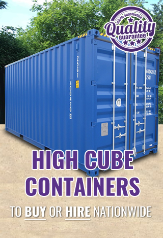 Price promise HIGH CUBE container