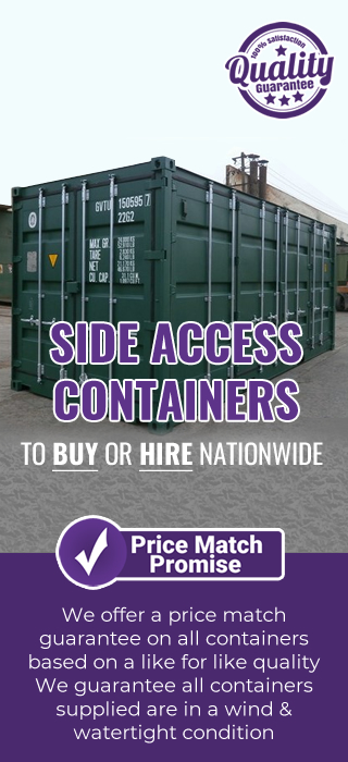 Price promise SIDE ACCESS container
