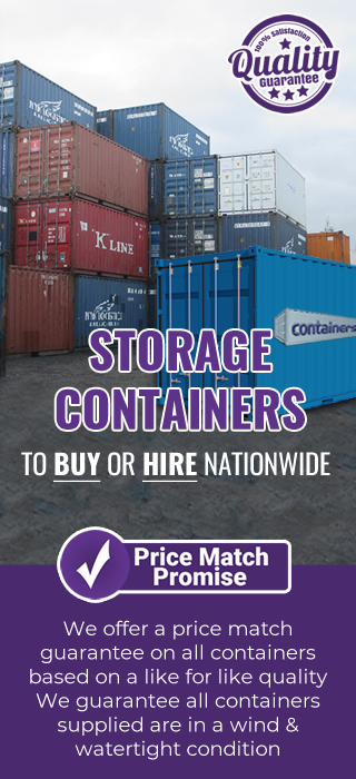 Price promise STORAGE container