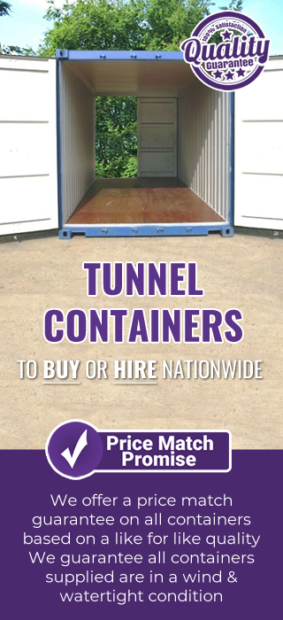 Price promise TUNNEL container
