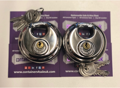 Container Moon Locks (Pairs)